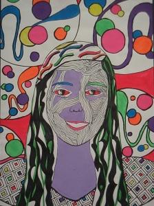 Textural Self-Portraits